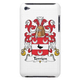 Escudo de la familia de Terrien iPod Touch Coberturas