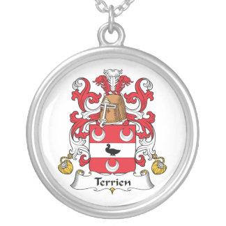 Escudo de la familia de Terrien Joyería