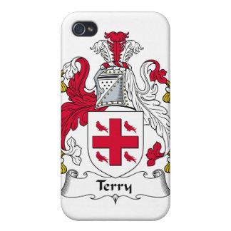 Escudo de la familia de Terry iPhone 4/4S Carcasa