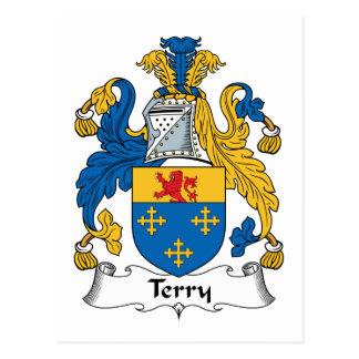 Escudo de la familia de Terry Postal