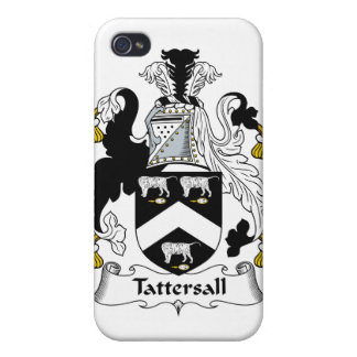 Escudo de la familia de Tersall iPhone 4/4S Fundas