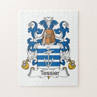 Escudo de la familia de Tessier Puzzle