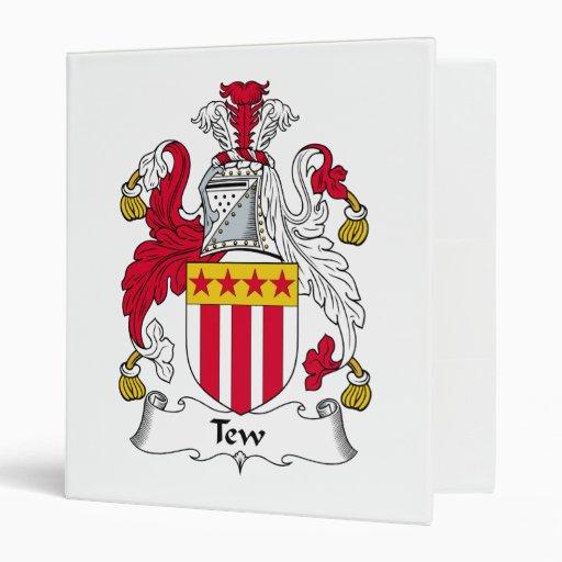 Escudo de la familia de Tew