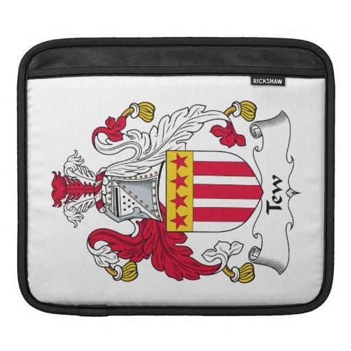 Escudo de la familia de Tew Mangas De iPad