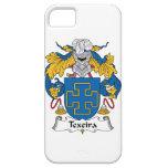 Escudo de la familia de Texeira iPhone 5 Case-Mate Protectores