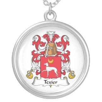 Escudo de la familia de Texier Colgante Personalizado