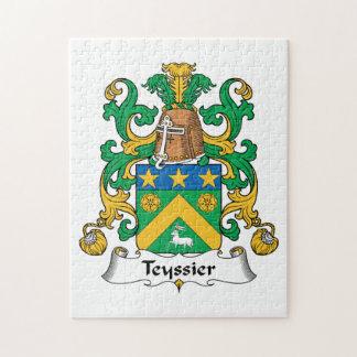 Escudo de la familia de Teyssier Puzzles Con Fotos