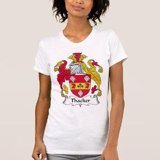 Escudo de la familia de Thacker Playeras
