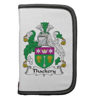 Escudo de la familia de Thackery Planificador