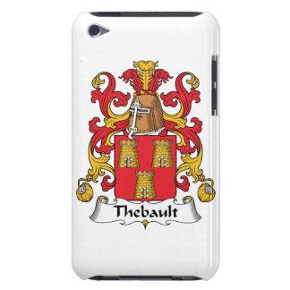 Escudo de la familia de Thebault Barely There iPod Cárcasas