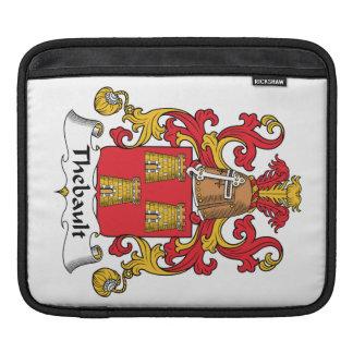 Escudo de la familia de Thebault Funda Para iPads