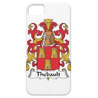 Escudo de la familia de Thebault iPhone 5 Funda