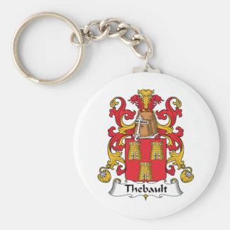 Escudo de la familia de Thebault Llavero