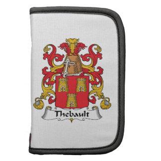 Escudo de la familia de Thebault Planificador