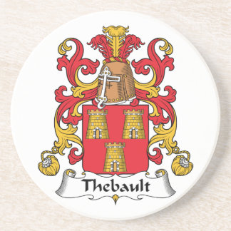 Escudo de la familia de Thebault Posavasos Manualidades
