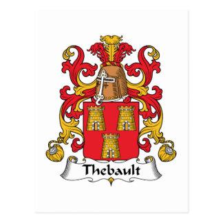 Escudo de la familia de Thebault Postal