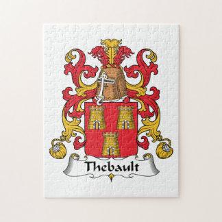 Escudo de la familia de Thebault Puzzle