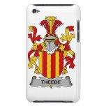Escudo de la familia de Theede Case-Mate iPod Touch Fundas