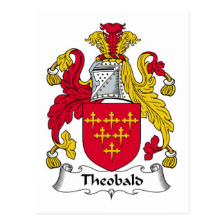 Escudo de la familia de Theobald Postal