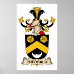 Escudo de la familia de Theobald Posters