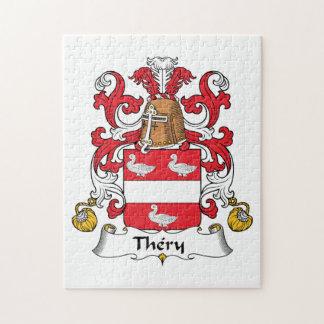 Escudo de la familia de Thery Puzzle Con Fotos