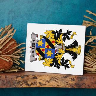 Escudo de la familia de Thestrup Placas Con Fotos