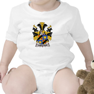 Escudo de la familia de Thestrup Trajes De Bebé