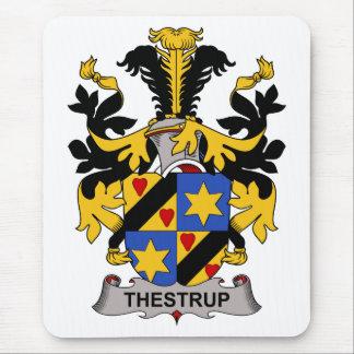 Escudo de la familia de Thestrup Tapetes De Ratón