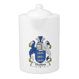 Escudo de la familia de Thetford