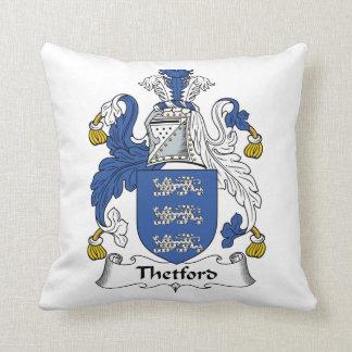 Escudo de la familia de Thetford Almohadas