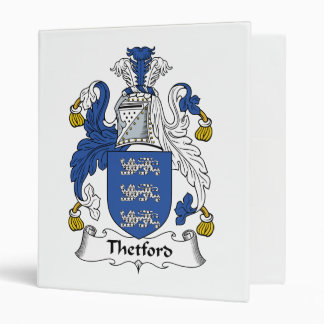 """Escudo de la familia de Thetford Carpeta 1"""""""