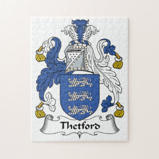 Escudo de la familia de Thetford Puzzles Con Fotos