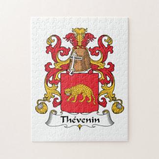 Escudo de la familia de Thevenin Puzzle Con Fotos