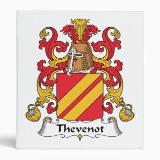 Escudo de la familia de Thevenot