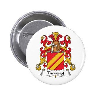 Escudo de la familia de Thevenot Pin