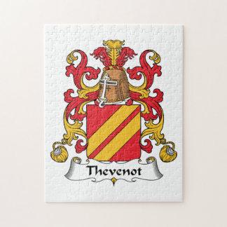 Escudo de la familia de Thevenot Rompecabeza
