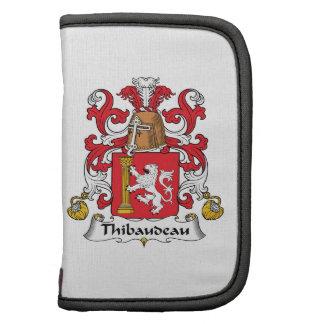 Escudo de la familia de Thibaudeau Organizadores