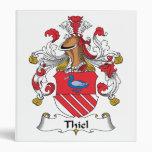Escudo de la familia de Thiel