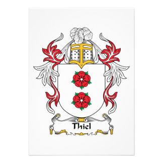 Escudo de la familia de Thiel Comunicados