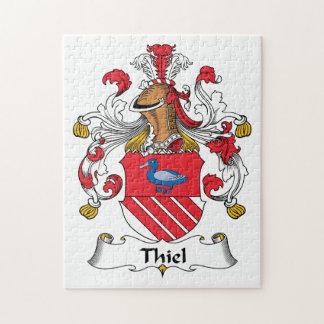 Escudo de la familia de Thiel Puzzle