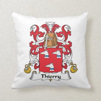Escudo de la familia de Thierry Almohadas
