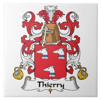 Escudo de la familia de Thierry Azulejos