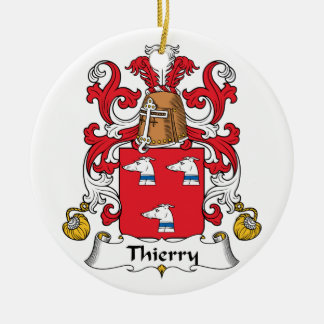 Escudo de la familia de Thierry Adorno Redondo De Cerámica