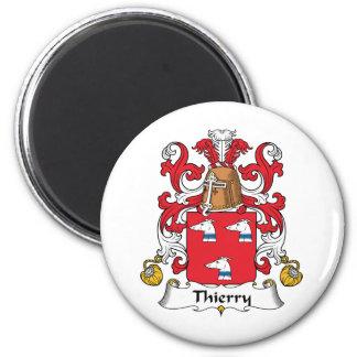 Escudo de la familia de Thierry Imanes De Nevera
