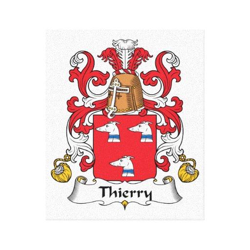Escudo de la familia de Thierry Lona Envuelta Para Galerías