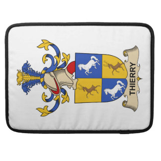 Escudo de la familia de Thierry Funda Para Macbooks