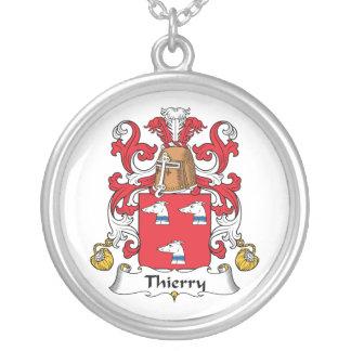 Escudo de la familia de Thierry Pendiente