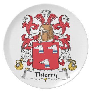 Escudo de la familia de Thierry Plato De Cena
