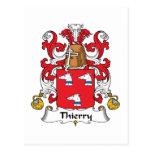 Escudo de la familia de Thierry Postal
