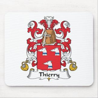 Escudo de la familia de Thierry Alfombrilla De Raton